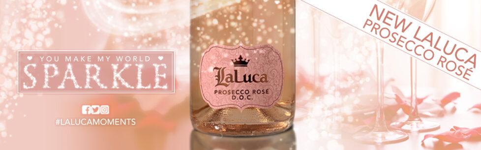 LaLuca Prosecco Rose Valentine's Day