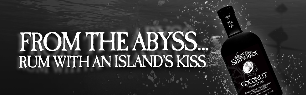From the Abyss, Rum with an Island's Kiss: Brinley Gold Shipwreck Coconut Rum Cream