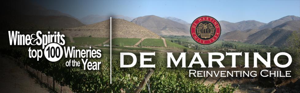 De Martino Named Top 100 Winery by Wine & Spirits Magazine
