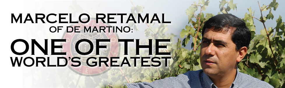 Marcelo Retamal of De Martino: One of the World's Greatest