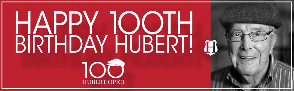 Hubert Opici Celebrates 100th Birthday